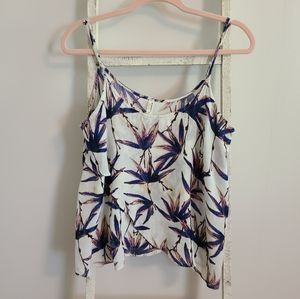 Intimately Free People♡ Tropical print tank top